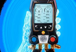 Testo Next Generation Manifold Gauges